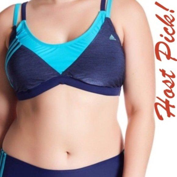 🎉HP🎉ADIDAS Sport Bikini Tank Top Swimsuit NEW